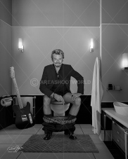 JOHNNY HALLYDAY BW SMALL
