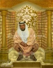 Presidente degli Emirati Arabi Uniti-Khalifa bin Zayed Al Nahayan-TWITTER